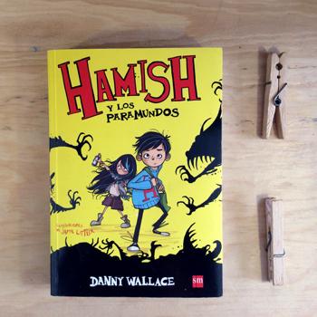 Hamish y Los paramundos portada en la Casa en la colina